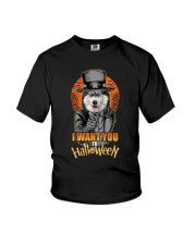 Siberian Husky Halloween Youth T-Shirt thumbnail