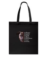 Pitbull For Loving Tote Bag thumbnail