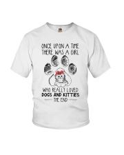 Dog - kitties Youth T-Shirt thumbnail
