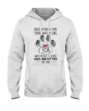 Dog - kitties Hooded Sweatshirt thumbnail