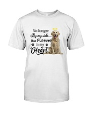 Golden Retriever Forever In My Heart Classic T-Shirt thumbnail