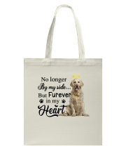 Golden Retriever Forever In My Heart Tote Bag thumbnail