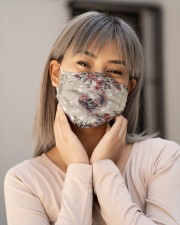 Skull Flower T828 Cloth face mask aos-face-mask-lifestyle-17