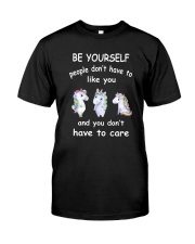 Be Yourself  Unicorn Classic T-Shirt tile