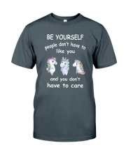Be Yourself  Unicorn Classic T-Shirt front