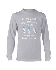 Be Yourself  Unicorn Long Sleeve Tee thumbnail