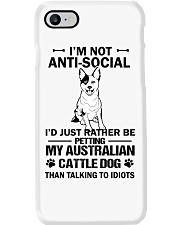 Australian Cattle Dog Anti-social Phone Case thumbnail
