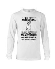Australian Cattle Dog Anti-social Long Sleeve Tee thumbnail