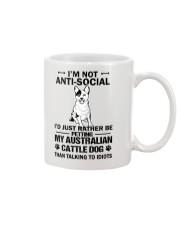 Australian Cattle Dog Anti-social Mug thumbnail