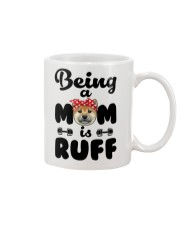 Shiba Inu Being a mom is ruff Mug thumbnail