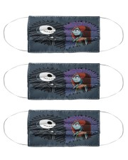 Her Jack His Sally G82781 Cloth Face Mask - 3 Pack front