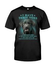 DOGS - LABRADOR RETRIEVER - THREE SIDES Classic T-Shirt front