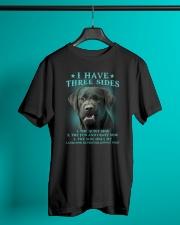DOGS - LABRADOR RETRIEVER - THREE SIDES Classic T-Shirt lifestyle-mens-crewneck-front-3
