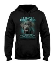 DOGS - LABRADOR RETRIEVER - THREE SIDES Hooded Sweatshirt thumbnail