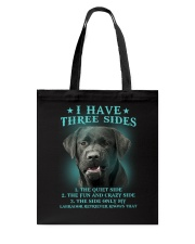 DOGS - LABRADOR RETRIEVER - THREE SIDES Tote Bag thumbnail