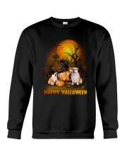 Bulldog Halloween Crewneck Sweatshirt tile