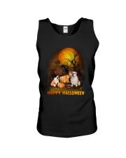 Bulldog Halloween Unisex Tank thumbnail