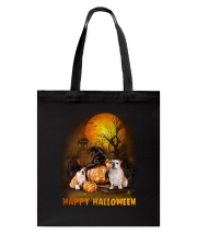 Bulldog Halloween Tote Bag thumbnail