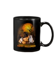 Bulldog Halloween Mug tile