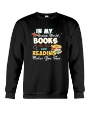 Book - My Dream World Crewneck Sweatshirt thumbnail