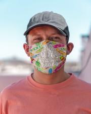 Flip-flops Beach T825 Cloth face mask aos-face-mask-lifestyle-06