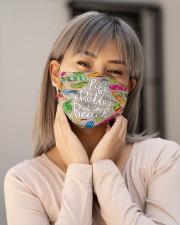 Flip-flops Beach T825 Cloth face mask aos-face-mask-lifestyle-17