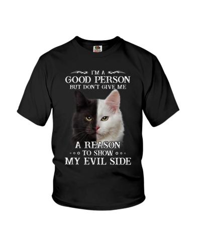 Cat - Don't make me show my evil side