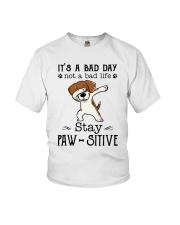 Beagle Stay Paw-sitive Youth T-Shirt thumbnail