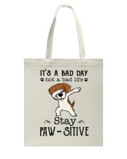 Beagle Stay Paw-sitive Tote Bag thumbnail
