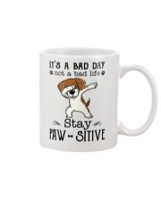Beagle Stay Paw-sitive Mug thumbnail