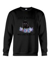NYX - Woman Black Cat - 1304 Crewneck Sweatshirt thumbnail