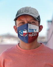 Don't Mess With Texas H26812 Cloth face mask aos-face-mask-lifestyle-06