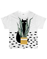 Cat Hiding All-over T-Shirt front