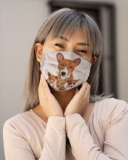 Basenji Awesome H28869 Cloth face mask aos-face-mask-lifestyle-17
