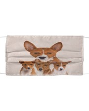 Basenji Awesome H28869 Cloth face mask front