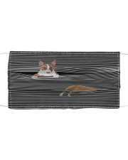 Bull Terrier Striped T821  Cloth face mask front