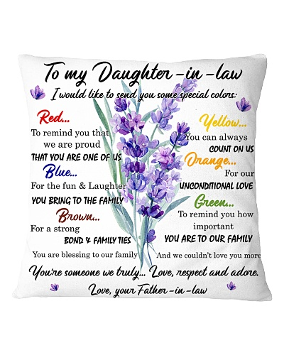 Family Daughter-in-law - Special colors