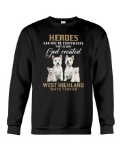 West Highland White Terrier Heroes Crewneck Sweatshirt thumbnail