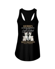 West Highland White Terrier Heroes Ladies Flowy Tank thumbnail