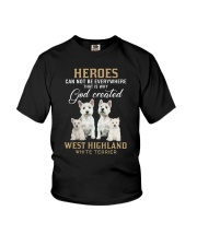 West Highland White Terrier Heroes Youth T-Shirt thumbnail