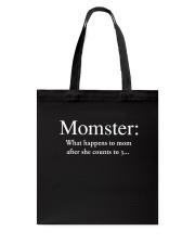 Family Momster Tote Bag thumbnail