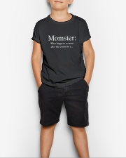 Family Momster Youth T-Shirt lifestyle-youth-tshirt-front-1