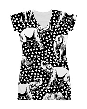 Elephant Black And White T5TS All-over Dress thumbnail