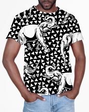 Elephant Black And White T5TS All-over T-Shirt aos-all-over-T-shirt-lifestyle-front-03