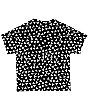 Elephant Black And White T5TS All-over T-Shirt back