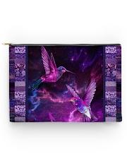 Hummingbird Purple Light TJ1901 Accessory Pouch tile