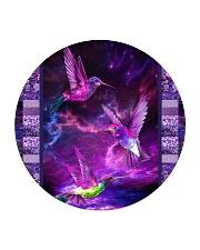 Hummingbird Purple Light TJ1901 Circle Coaster tile