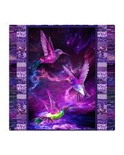 Hummingbird Purple Light TJ1901 Square Coaster tile