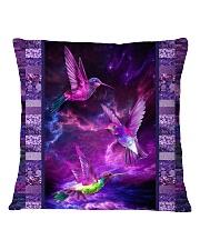 Hummingbird Purple Light TJ1901 Square Pillowcase tile