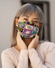 Tennis Love T825 Cloth face mask aos-face-mask-lifestyle-17